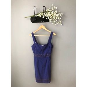 🎀 NWT • Free People • Lace Me Up Bodycon Dress